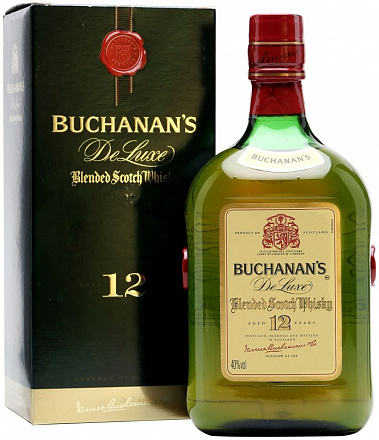 """Buchanan's"" De Luxe 12 Years Old"