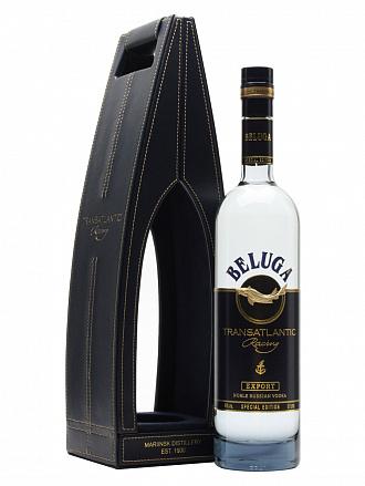 """Водка """"Beluga"""" Transatlantic Racing, в подарочной упаковке на магнитах - Drinkbay"""