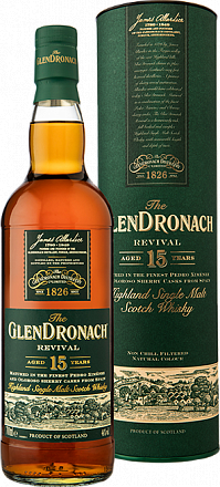 "Виски ""Glendronach"" Revival 15 years old - Drinkbay"