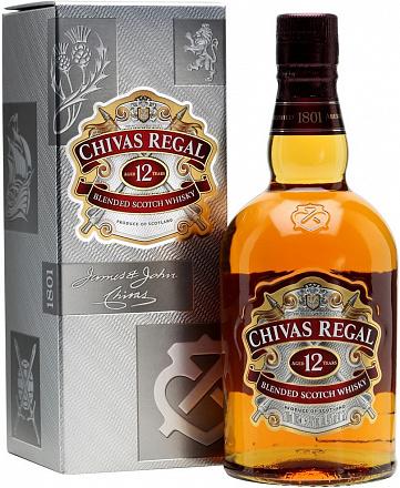 """Виски """"Chivas Regal"""" 12 YO, в подарочной упаковке - Drinkbay"""